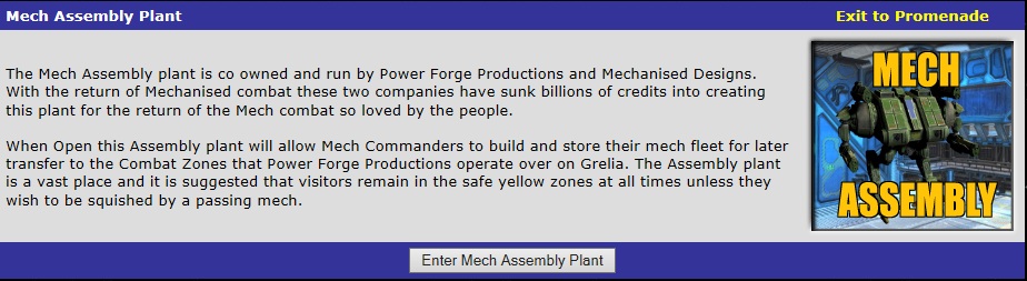 Enter Mech Assembly Plant