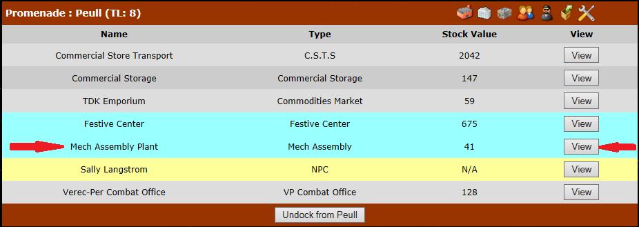 Mech Assembly Plant, Mech Assembly